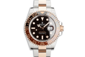 "2018 Rolex EVEROSE GMT-Master II 126711CHNR ""Root Beer"" with Box and Card photo"