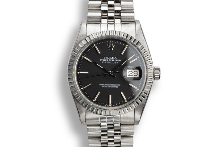 1978 Rolex DateJust 1603 Black Dial with Box and Papers photo