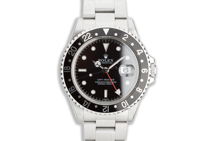 "1998 Rolex GMT-Master 16700 ""Swiss Only"" photo"