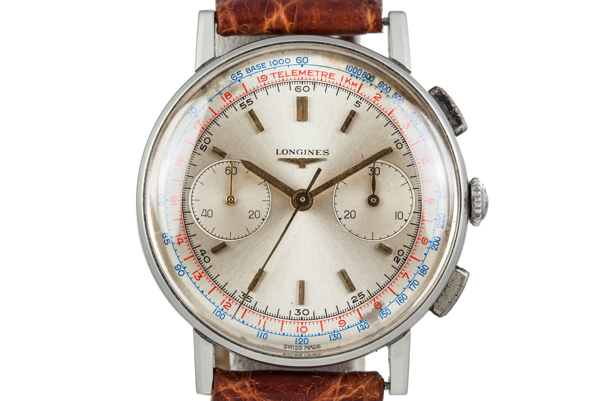1960s Longines Chronograph 7412-4 with Extract From the Archives photo, #0