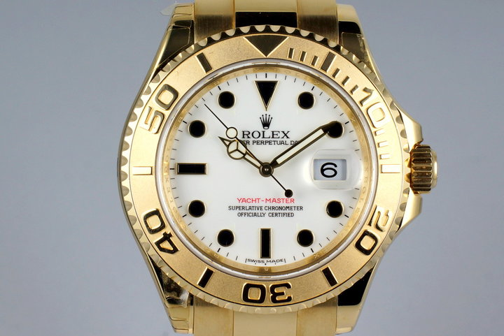 2009 Rolex YG Yacht-Master 16628 photo