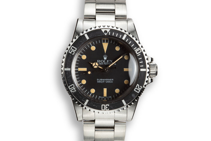 1984 Rolex Submariner 5513 with Mark V Maxi Dial photo