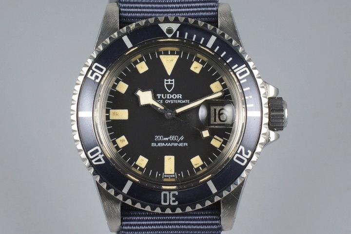 1981 Tudor Submariner 94110 Snowflake photo