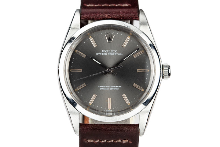 1968 Rolex Oyster Perpetual 1018 Grey Dial photo