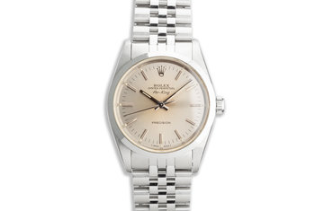 1991 Rolex Air-King 14000 Silver Dial photo