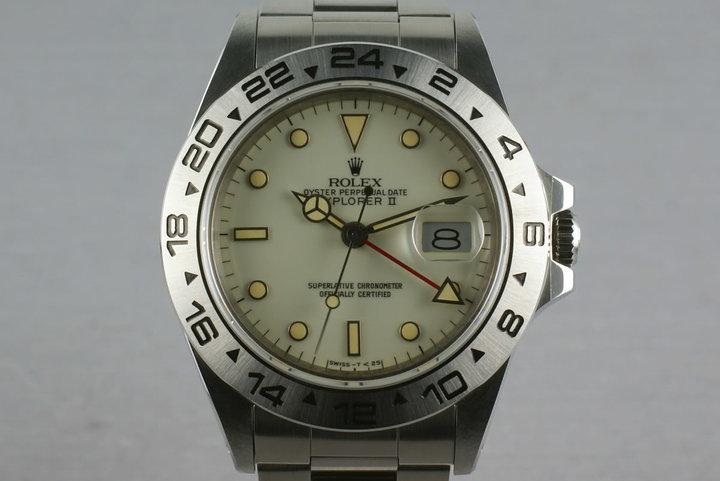 Rolex Explorer II 16550 Unpolished and Mint Cream Dial photo