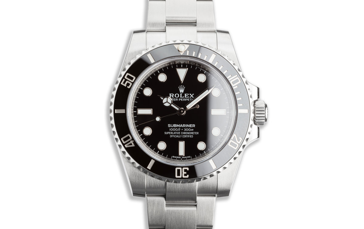 2018 Rolex Submariner 114060 with Box & Card photo, #0