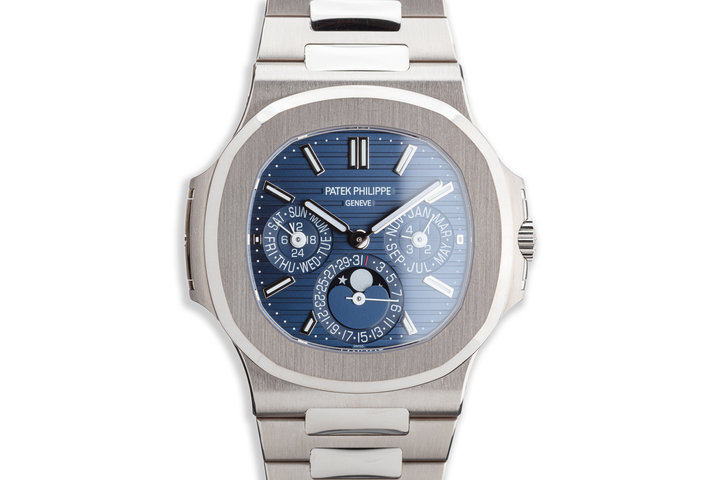 2019 Patek Philippe Nautilus Perpetual Calendar 5740/1G-001 18K with Box, Papers & Watch Winder photo