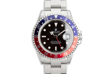 """2006 Rolex GMT-Master II 16710 T """"Pepsi"""" with Box and Papers photo"""