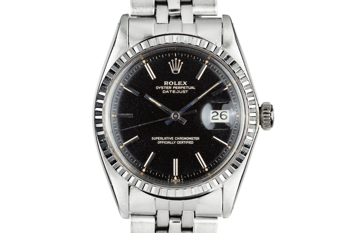 1968 Rolex DateJust 1603 Gilt Dial photo, #0