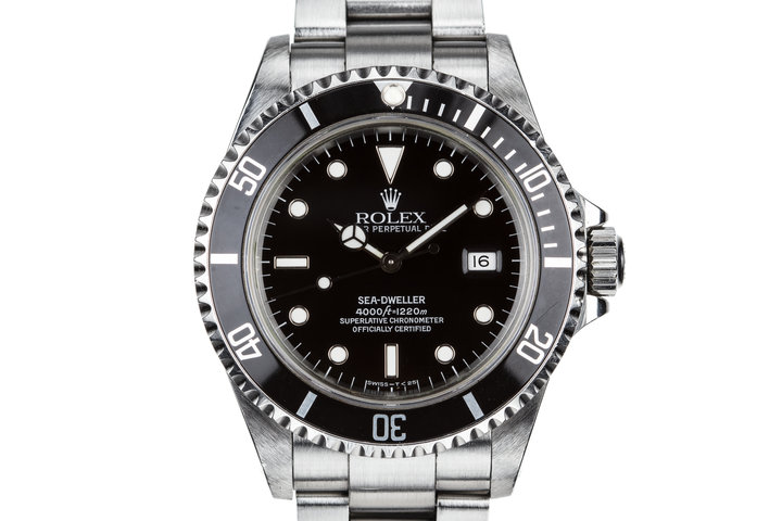 1995 Rolex Sea-Dweller 16600 with Box and Papers photo