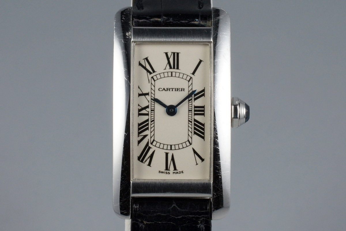 Cartier Ladies WG Tank Americaine 1713 with Box photo, #0