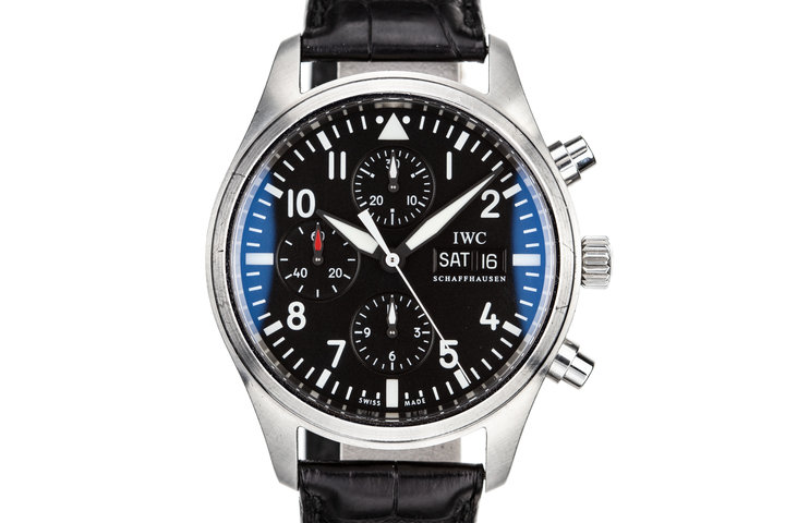 IWC Pilots Chronograph 3717.01 photo