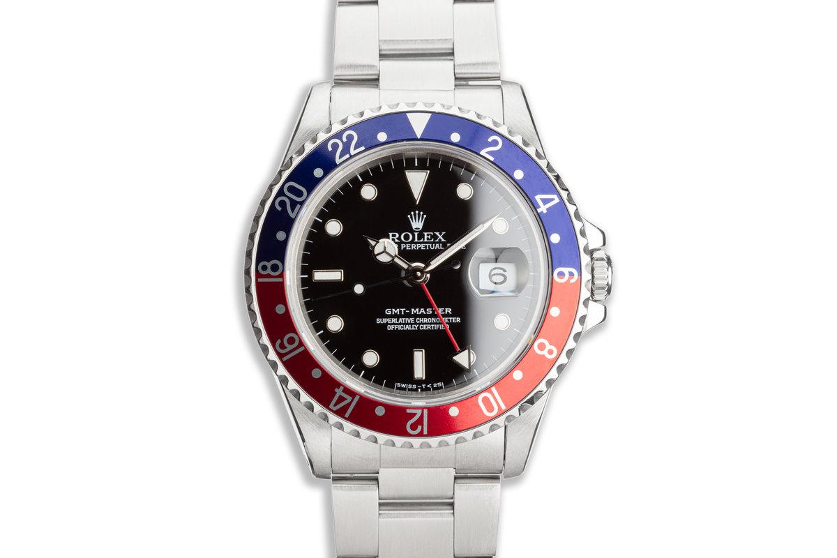 """1996 Rolex GMT-Master 16700 """"Pepsi"""" photo, #0"""