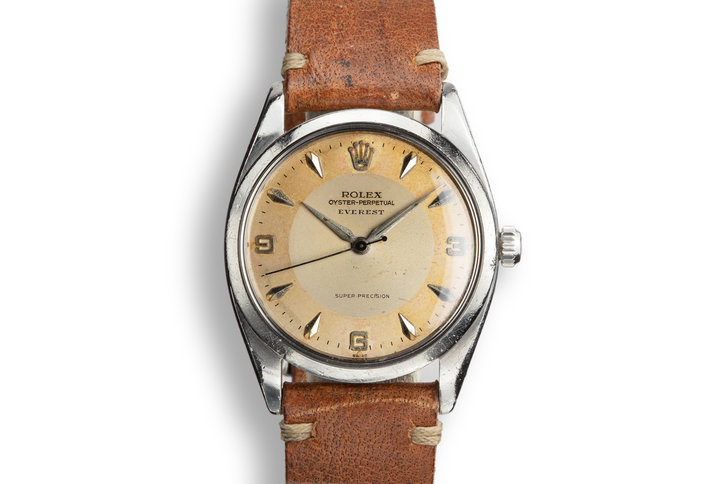 "1958 Rolex Oyster-Perpetual ""Everest"" 5504 Two Tone Dial photo"