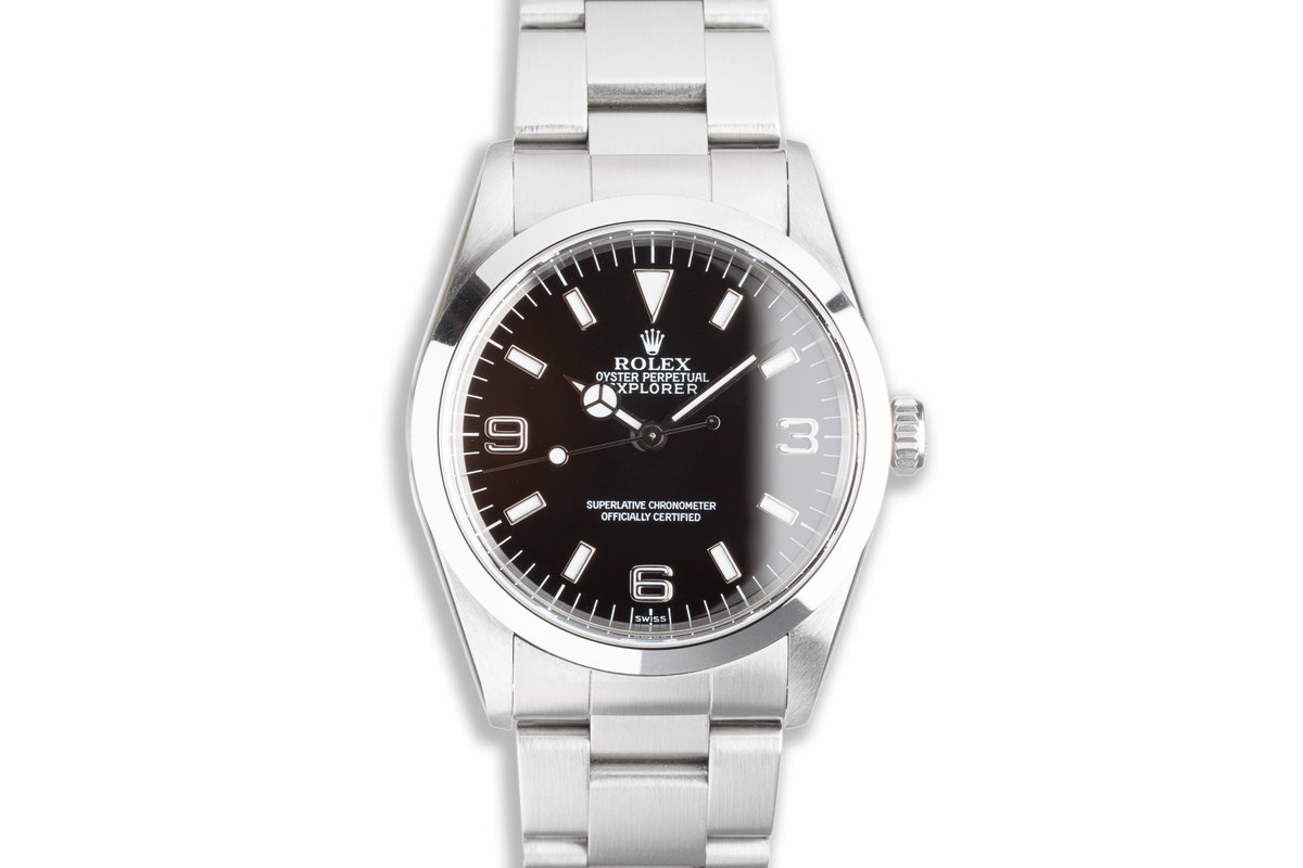 1999 Rolex Explorer 14270 with Box & Papers photo, #0
