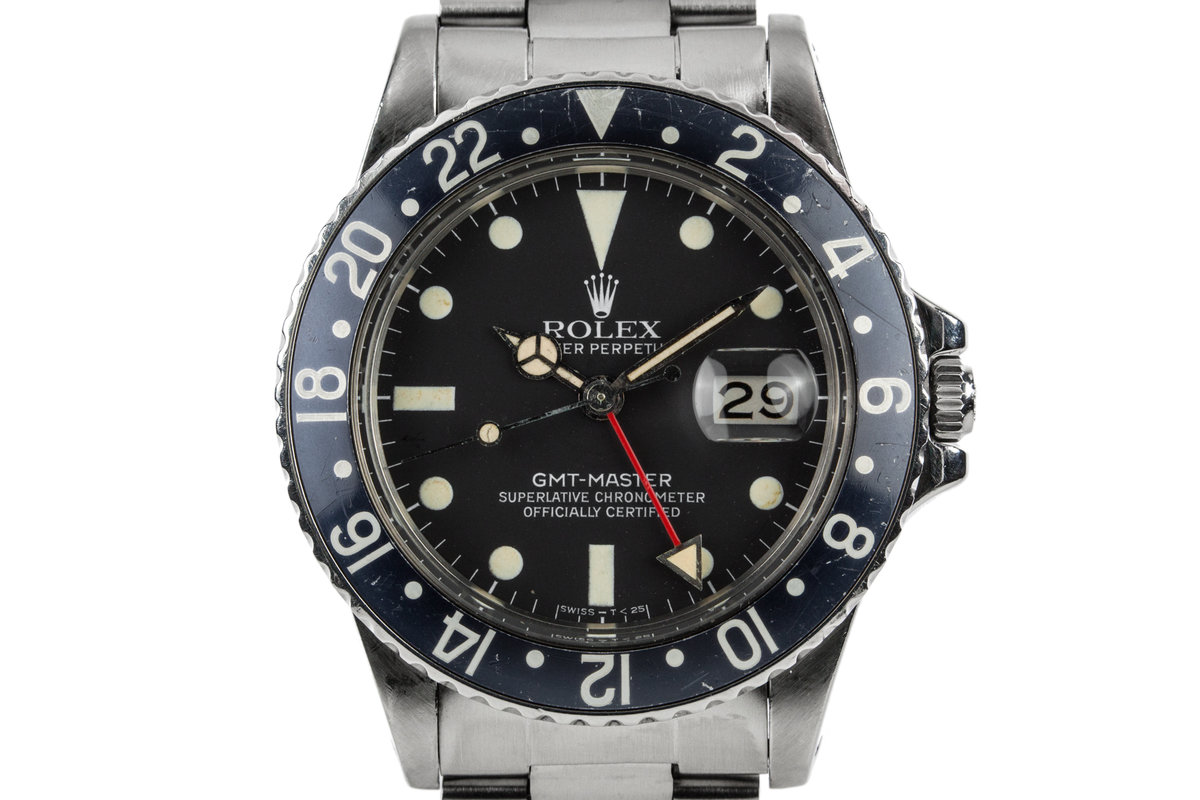 1979 Rolex GMT-Master 16750 with Faded Black Insert photo, #0