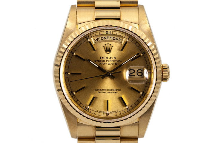 1989 Rolex YG Day-Date 18238 photo