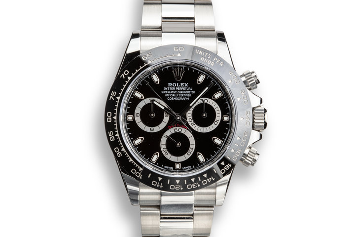 2019 Rolex Daytona 116500LN Black Dial with Box and Papers photo