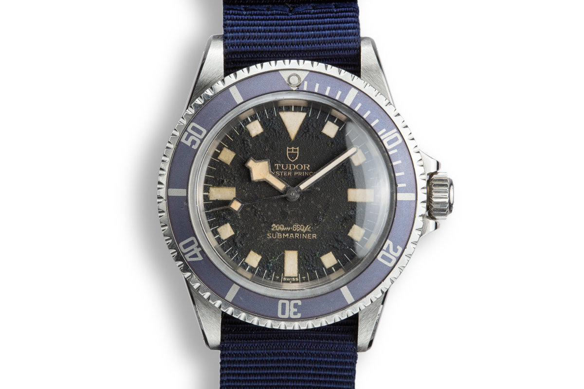1974 Tudor Snowflake Submariner 7016/0 Blue Dial photo, #0