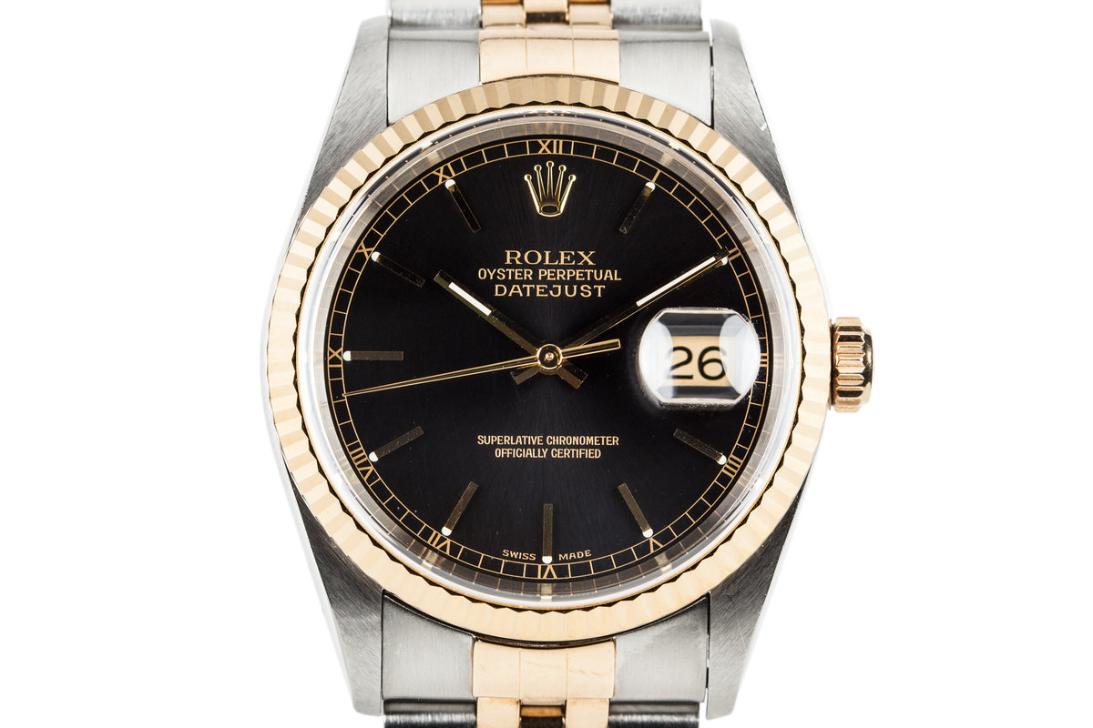1997 Rolex Two Tone DateJust 16233 with Box and Papers photo, #0