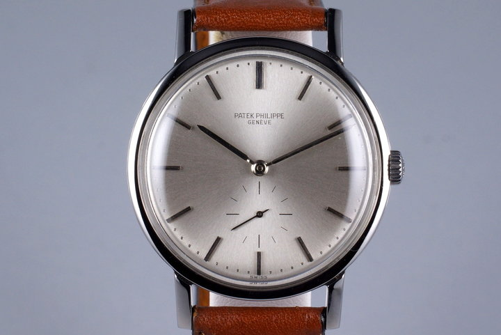 1964 Stainless Steel Patek Philippe 3466 Automatic with Archive Papers photo