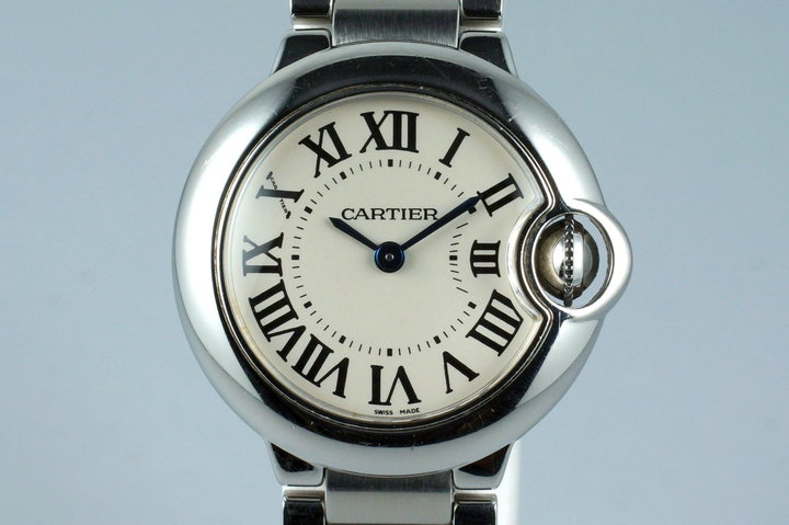 Ladies Cartier Ballon Bleu W69010Z4 Quartz photo