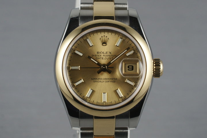 2003 Rolex Ladies Two Tone Datejust 179163 photo