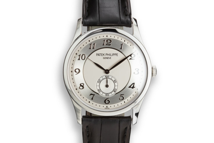 Patek Philippe Platinum Calatrava 5196P-0091 photo