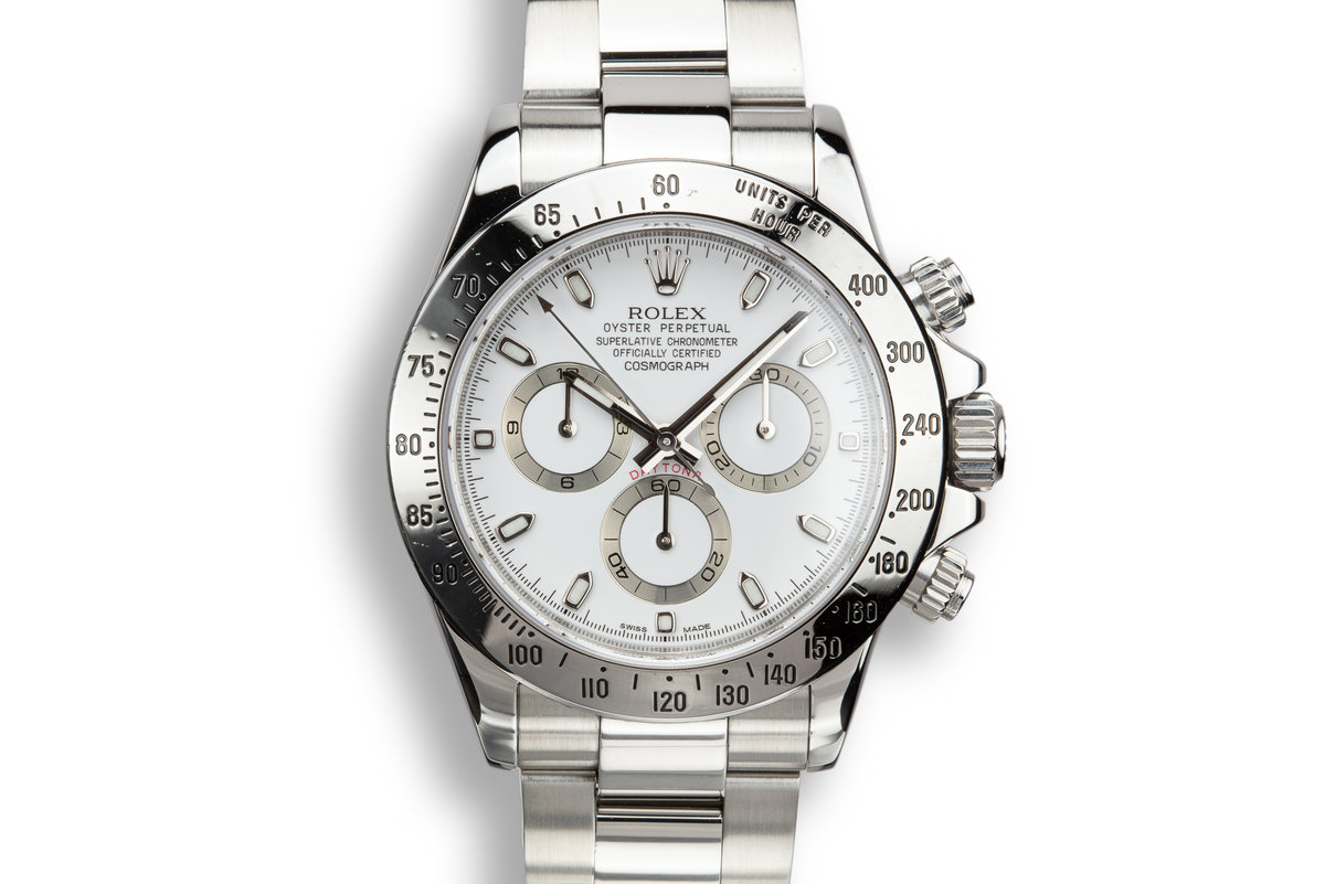 2011 Rolex Daytona 116520 White Dial with Box and Papers photo, #0