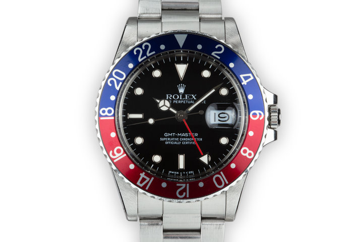 1985 Rolex GMT-Master 16750 Glossy Dial photo