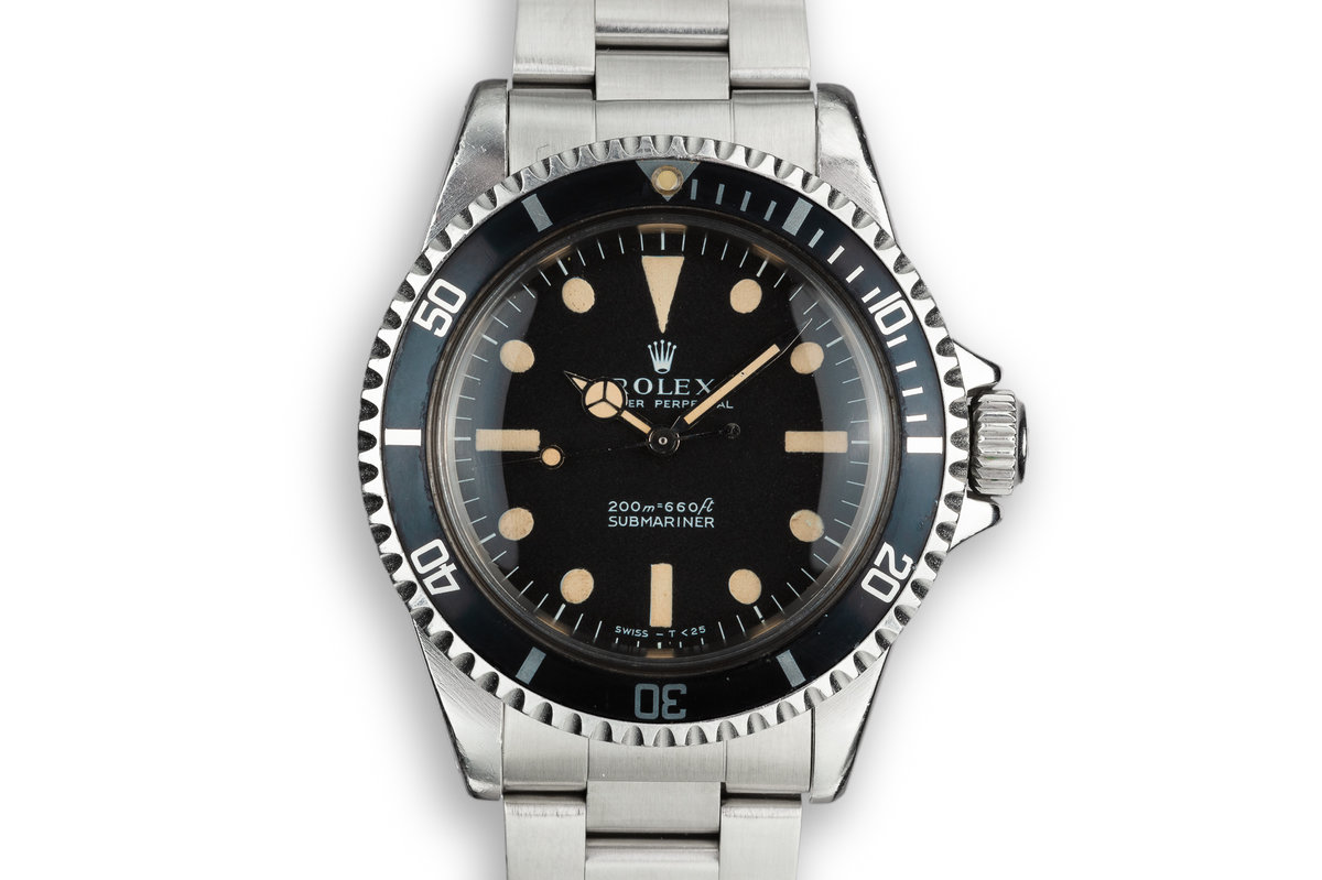 1969 Rolex Submariner 5513 with Meters First Dial photo, #0