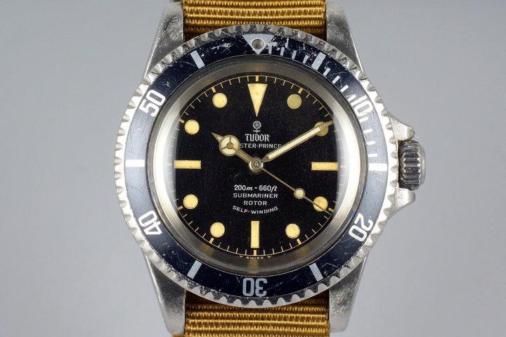 1965 Tudor Submariner 7928 Gilt Chapter Ring Dial photo