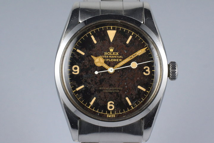 1956 Rolex Explorer 1 6610 Tropical Dial with Box photo
