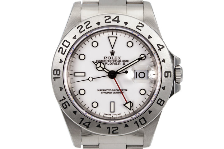 1997 Rolex Explorer II 16570 photo