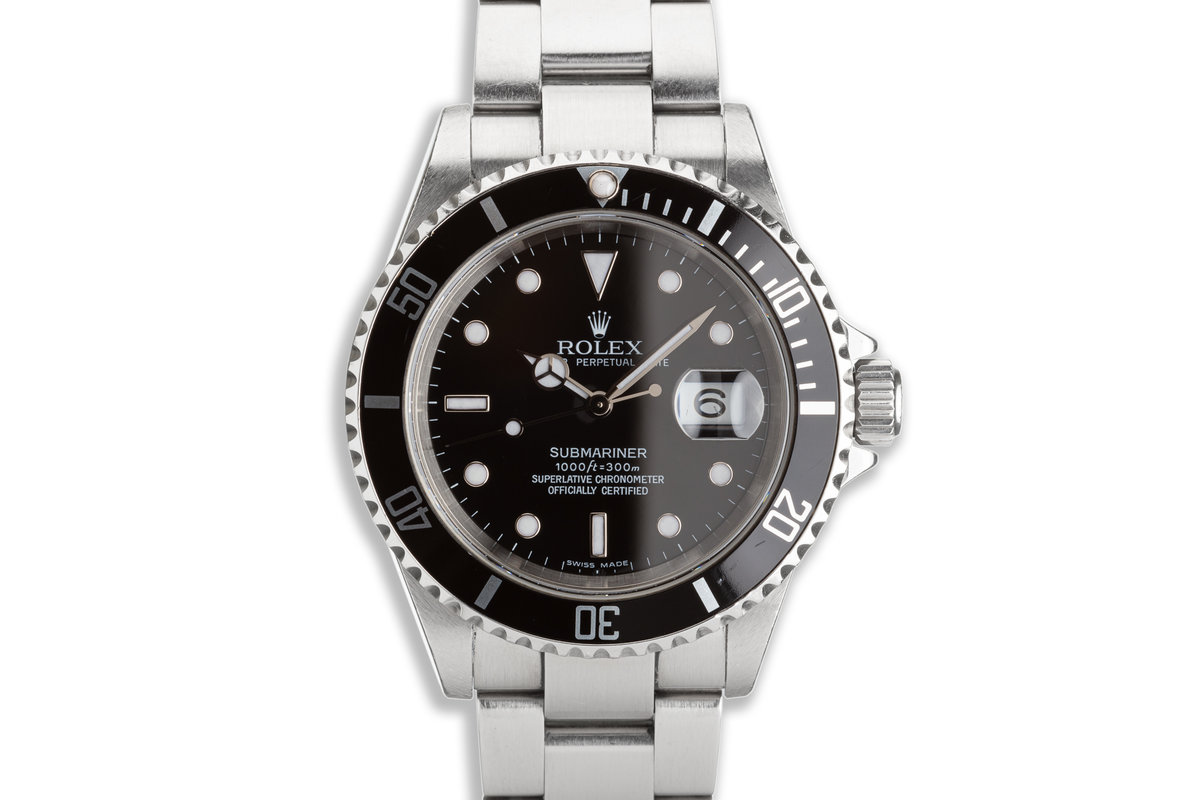 2006 Rolex Submariner 16610 with Box & Card photo, #0