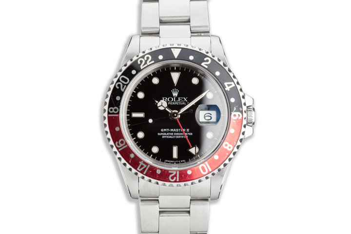 "1995 Rolex GMT-Master II 16710 ""Coke"" Bezel photo"