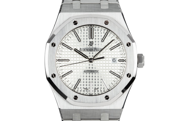2016 Audemars Piguet Royal Oak 15400ST with Box and Papers photo