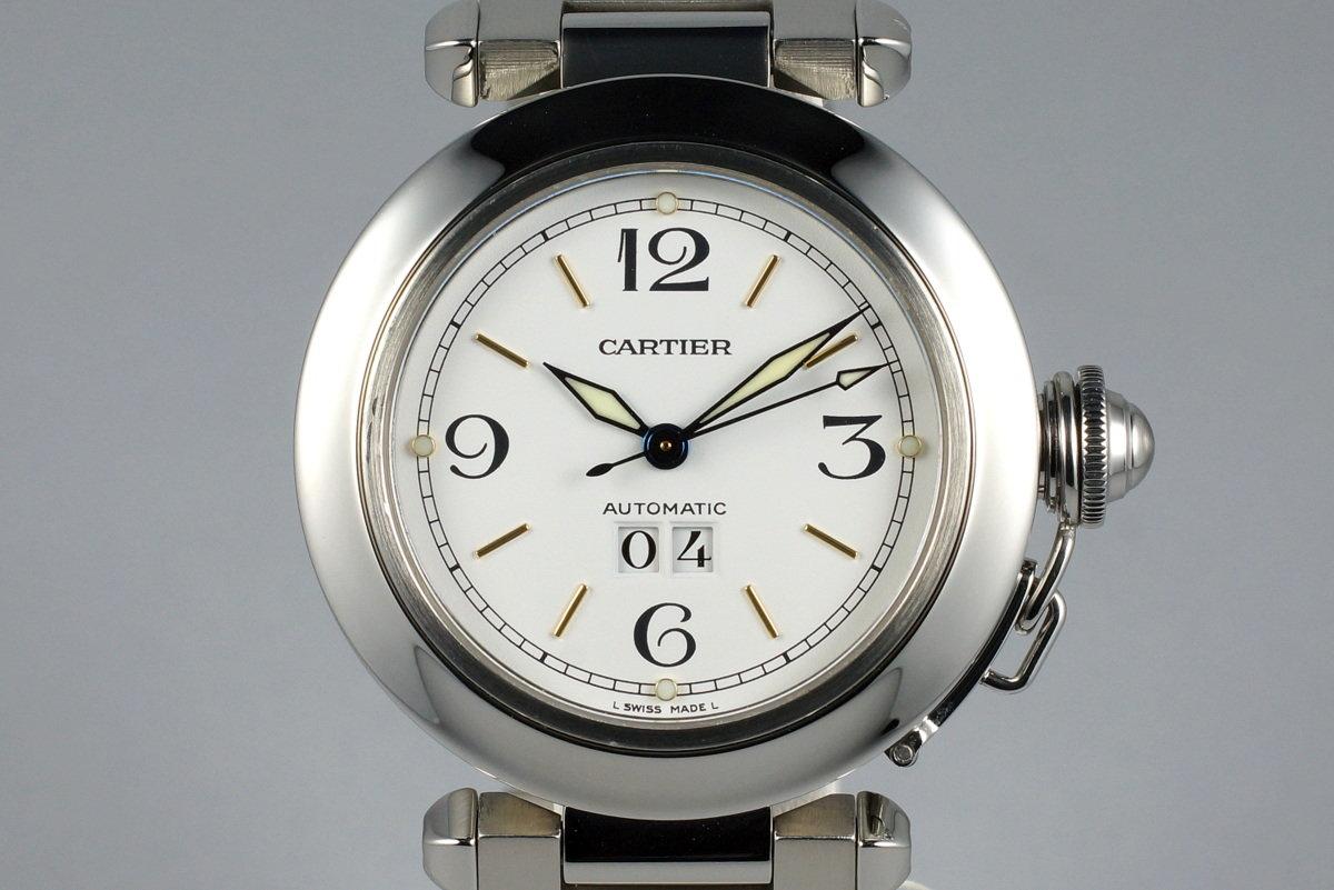 Cartier Pasha 'C' 2475 White Dial photo, #0