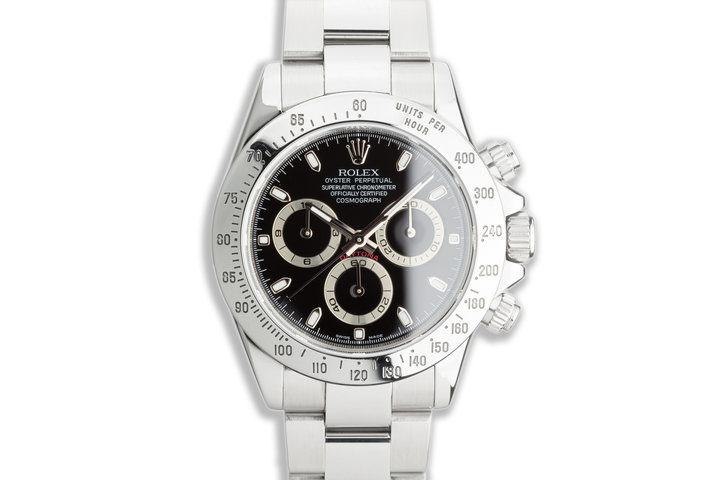 2007 Rolex Daytona 116520 Black Dial with Box & Papers photo