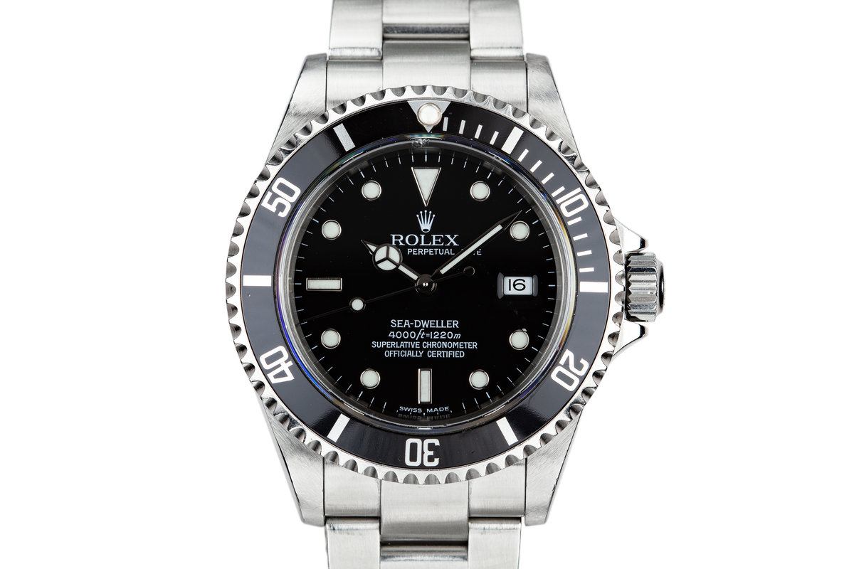 2003 Rolex Sea-Dweller 16600 with Box and Papers photo, #0