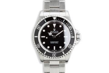 2003 Rolex Submariner 14060M photo