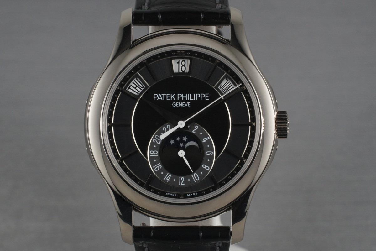 2011 Patek Philippe 18K White Gold 5205G Annual Calendar photo, #0