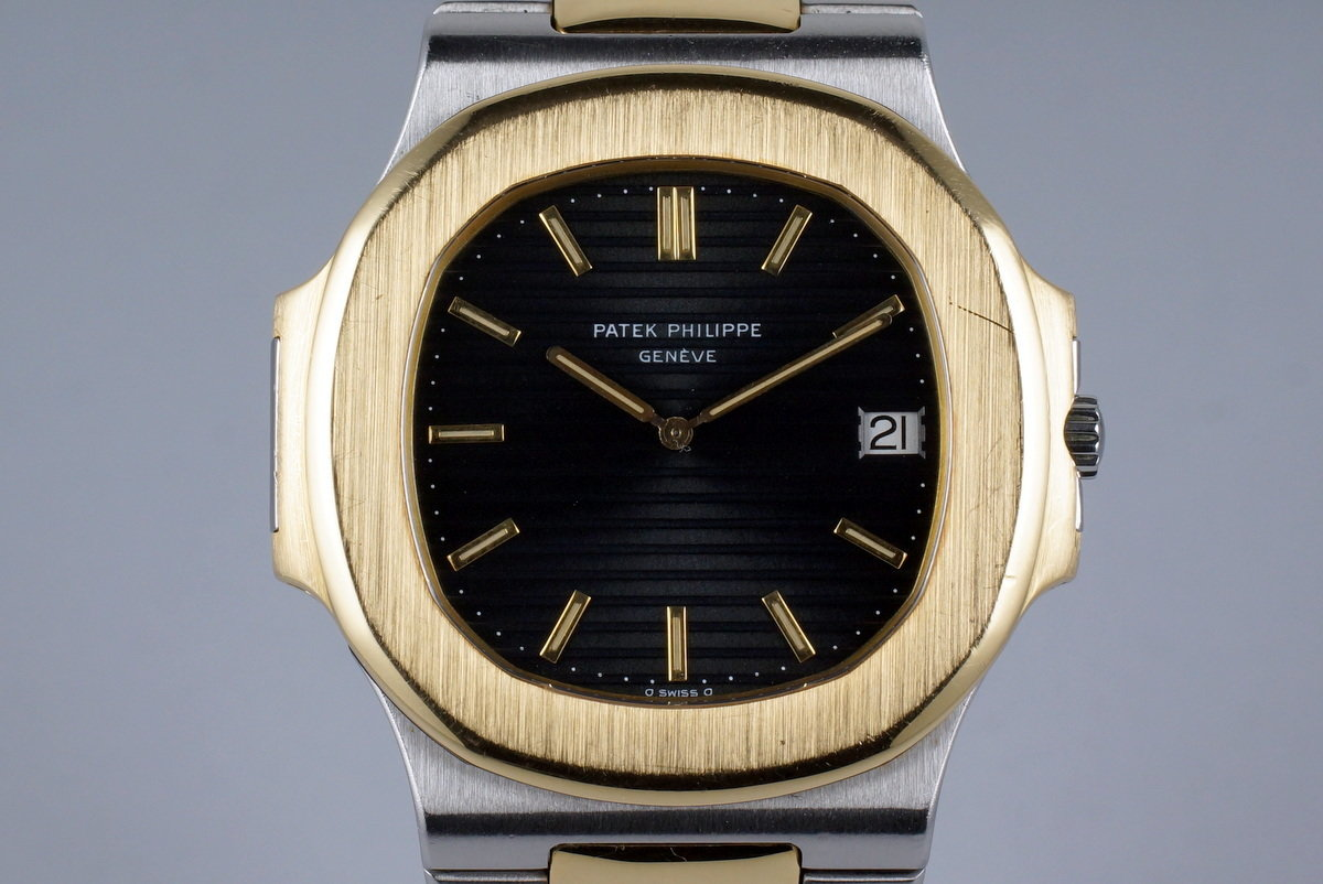 Vintage Patek Philippe Two Tone Nautilus 3700 photo, #0