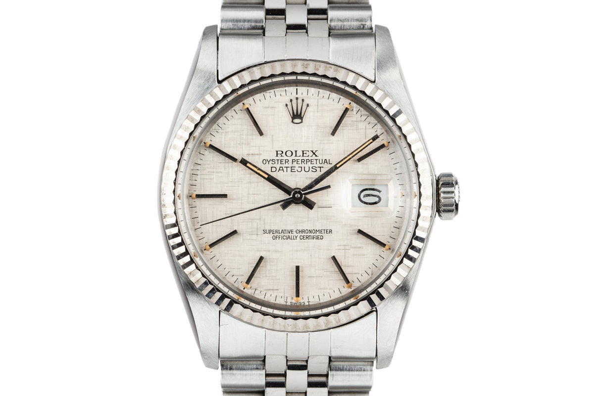 1983 Rolex DateJust 16014 Linen Dial photo, #0