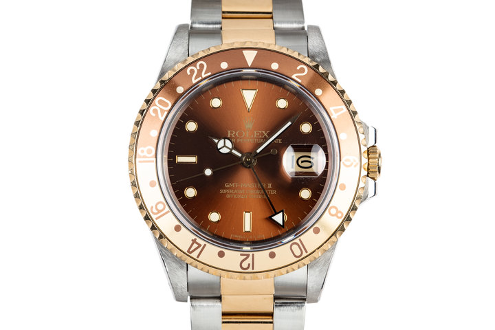 "1988 Rolex Two-Tone GMT-Master II 16713 ""Rootbeer"" photo"