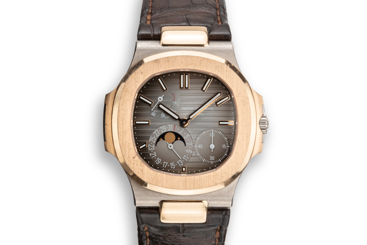 2016 Two-Tone WG/RG Patek Philippe Nautilus 5712 GR-001 with Box and Papers photo, #0