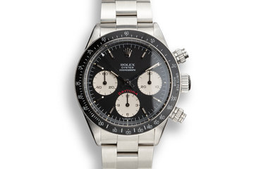 """1978 Rolex """"Big Red"""" Daytona 6263 with Box, Papers, and Service Papers photo"""