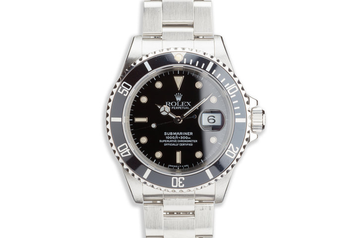 1990 Rolex Submariner 16610 photo