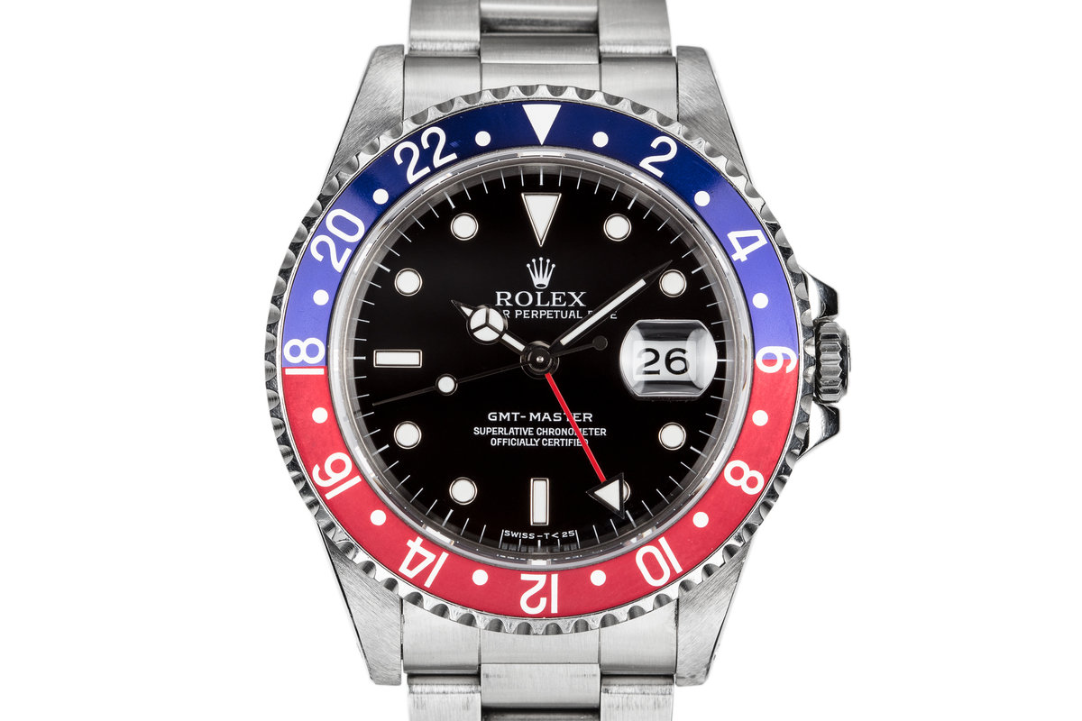 1993 Rolex GMT-Master 16700 with Pepsi Insert photo, #0